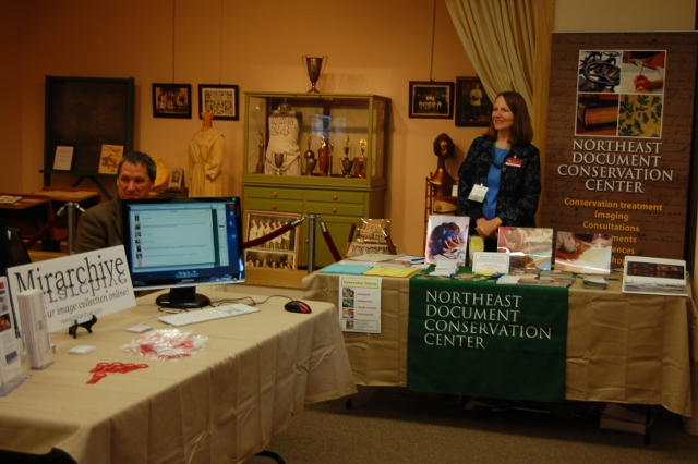 Sponsor table at MAM Conference 2011